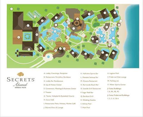 Secrets Akumal Resort Map | allinclusivegal