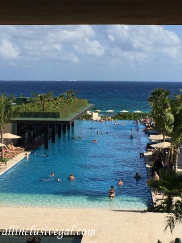 Hotel Xcaret Mexico Main Infinity Pool