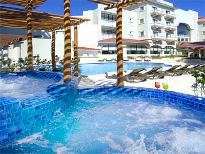 Nyx Hotel Cancun Pool And Jacuzzis