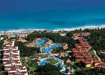 Iberostar Paraiso Beach Aerial View